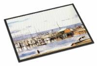 Carolines Treasures  1006JMAT Pass Bait Shop Indoor or Outdoor Mat 24x36 Doormat