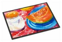 Carolines Treasures  6036JMAT A Slice of Cantelope  Indoor or Outdoor Mat 24x36 - 24Hx36W