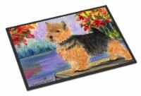 Carolines Treasures  SS8054JMAT Norwich Terrier Indoor or Outdoor Mat 24x36 Door - 24Hx36W