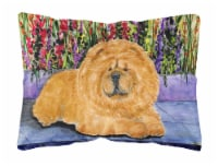 Carolines Treasures  SS8601PW1216 Chow Chow Decorative   Canvas Fabric Pillow