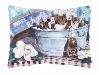 Carolines Treasures  1003PW1216 Barq's and old washtub Decorative   Canvas Fabri - 12Hx16W