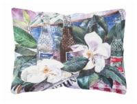 Carolines Treasures  1009PW1216 Barq's and Magnolia Decorative   Canvas Fabric P - 12Hx16W