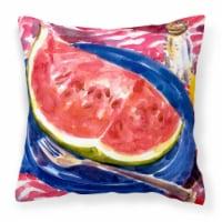Carolines Treasures  6028PW1414 Watermelon Decorative   Canvas Fabric Pillow