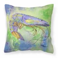Carolines Treasures  8342PW1414 Shrimp Decorative   Canvas Fabric Pillow