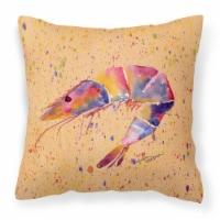 Carolines Treasures  8465PW1414 Shrimp Decorative   Canvas Fabric Pillow