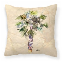 Carolines Treasures  8481PW1414 Tree - Palm Tree Decorative   Canvas Fabric Pill