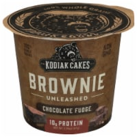 Kodiak Cakes Chocolate Fudge Brownie Unleashed Power Cup