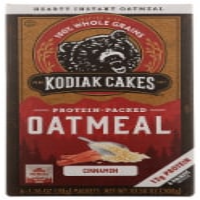 Kodiak Cakes Cinnamon Oatmeal Packets