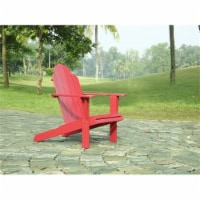 Hawthorne Collection Adirondack Chair in Red