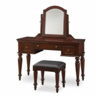 Bowery Hill Vanity and Bench Set - 1