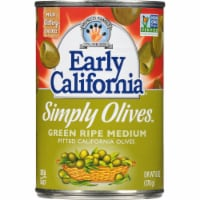 Early California Simply Green Ripe Medium Pitted California Olives