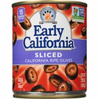 Early California Sliced California Ripe Olives