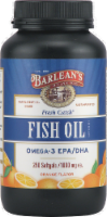 Barlean's Fresh Catch Omega-3 Fish Oil Softgels 250 Count