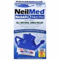 NeilMed Nasaflo Neti-Pot Nasal Wash System