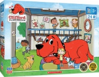 Clifford the Big Red Dog Doghouse 24 Piece Jigsaw Puzzle - 1 Each