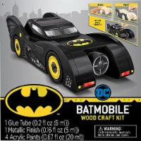 MasterPieces Batmobile™ Wood Craft Kit