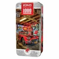 MasterPieces World's Smallest High Performance -1000 Piece Tin Box Jigsaw Puzzle - 1 unit