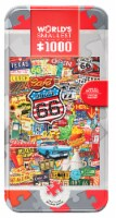 MasterPieces World's Smallest Route 66 1000 Piece Tin Box Jigsaw Puzzle by Kate Ward Thacker - 1 unit