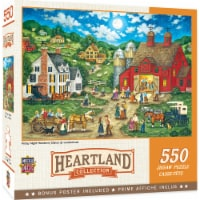 MasterPieces Heartland Collection - Friday Night Hoe Down 550pc Puzzle