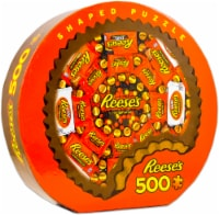 MasterPieces Hershey's Reeses 500 Piece Shaped Jigsaw Puzzle - 1 unit