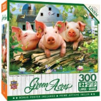 MasterPieces Green Acres Three 'Lil Pigs EzGrip Jigsaw Puzzle - 300 pc