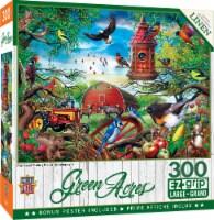 MasterPieces® Green Acres Farmland Frolic EzGrip Puzzle - 300 pc