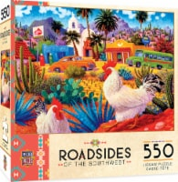 MasterPieces Roadsides of the Southwest Gallos Blancos Puzzle