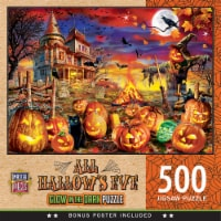 MasterPieces Halloween - All Hallow's Eve 500pc Glow in the Dark Puzzle - 1 unit