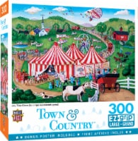 MasterPieces Town & Country - Jolly Time Circus 300pc EzGrip Puzzle