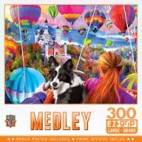 MasterPieces Medley Neuschwanstein Balloons EZ Grip Large Jigsaw Puzzle