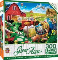 MasterPieces® EZ Grip Green Acres Collection Quilt Country Jigsaw Puzzle - 300 pc