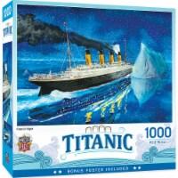 MasterPieces Titanic Series - Titanic At Sea Iceburg 1000 Piece Jigsaw Puzzle