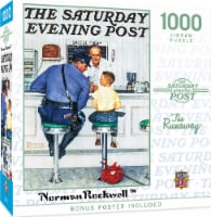 MasterPieces® Saturday Evening Post The Runaway Norman Rockwell Jigsaw Puzzle - 1000 pc