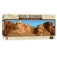 MasterPieces Mount Rushmore 1000 Piece Panoramic Jigsaw Puzzle - 1 unit