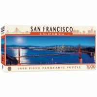 San Francisco California 1000 Piece Panoramic Jigsaw Puzzle - 1 Each