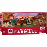 MasterPieces Farmall Puzzles Collection - Horse Power 1000 Piece Panoramic Jigsaw Puzzle - 1 unit
