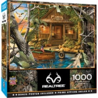 MasterPieces REALTREE Gone Fishing 1000 Piece Jigsaw Puzzle by Dona Gelsinger - 1000 pc