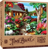 MasterPieces Time Away Dragonfly Garden Jigsaw Puzzle