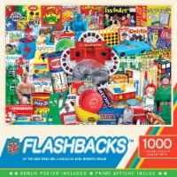 Master Pieces Flashback 1000 Piece Jigsaw Puzzle