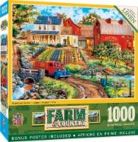MasterPieces Farm & Country - Grandma's Garden 1000pc Puzzle - 1 unit