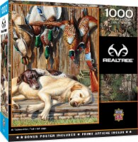 MasterPieces RealTree - All Tuckered Out 1000pc Puzzle - 1 unit
