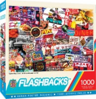 MasterPieces Flashbacks Quick Stop Diner Jigsaw Puzzle