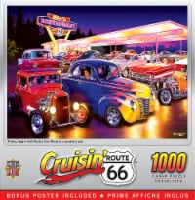 MasterPieces Cruisin' - Friday Night Hot Rod's 1000 Piece Jigsaw Puzzle