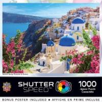 MasterPieces® Shutter Speed Santorini Spring Jigsaw Puzzle - 1000 pc