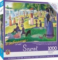 MasterPieces - A Sunday on La Grande Jatte 1000 Piece Linen Jigsaw Puzzle - 1 unit