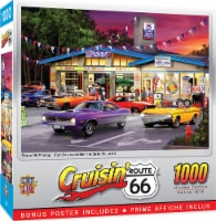 MasterPieces Cruisin' - Route 66 Pitstop 1000 Piece Jigsaw Puzzle