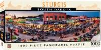 MasterPieces American Vistas Puzzles Collection - Sturgis 1000 Piece Panoramic Jigsaw Puzzle - 1 unit