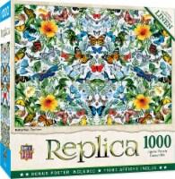 MasterPieces Replica Puzzles Collection - Butterflies 1000 Piece Jigsaw Puzzle - 1 unit