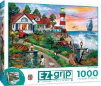 MasterPieces® EZGrip Puzzles Collection Lighthouse Keepers Jigsaw Puzzle - 1000 pc
