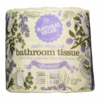 Natural Value 100% Recycled Bath Tissue